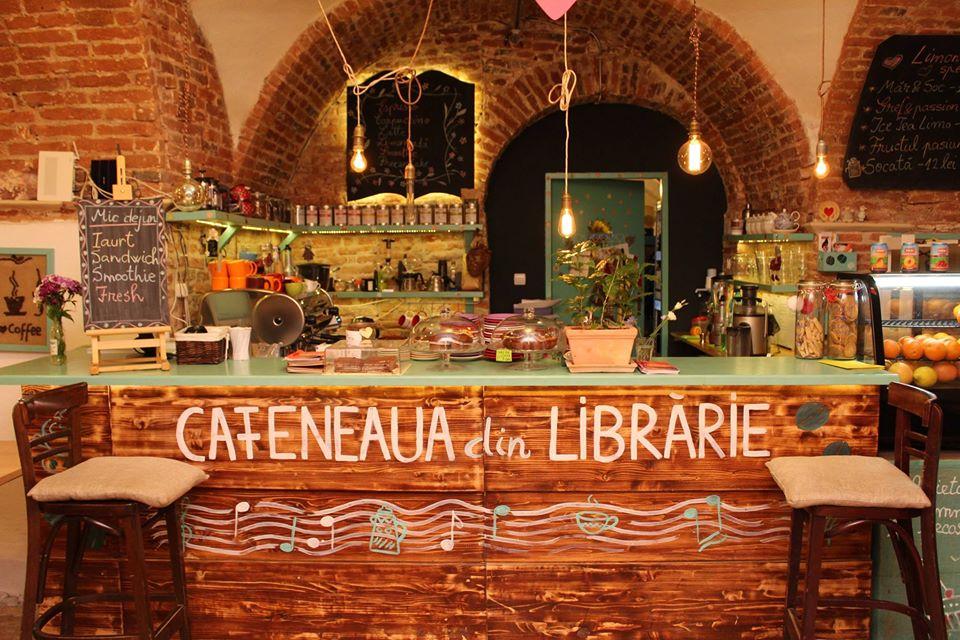 Cafeneaua din Librarie sibiu