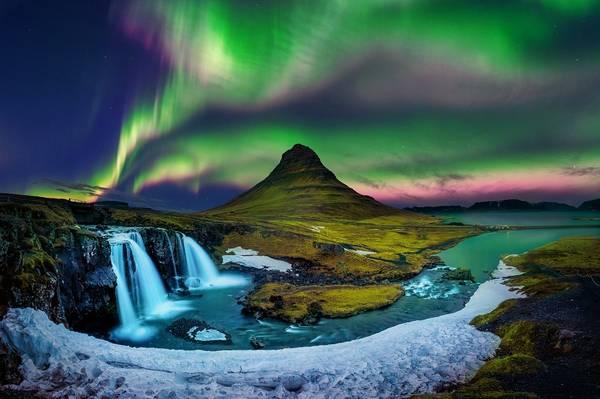 Islanda aurora boreala
