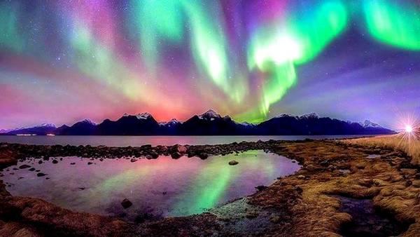Laponia Finlanda aurora boreala