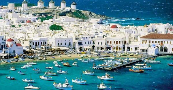 Mykonos Insula Petreceri Grecia Ghid
