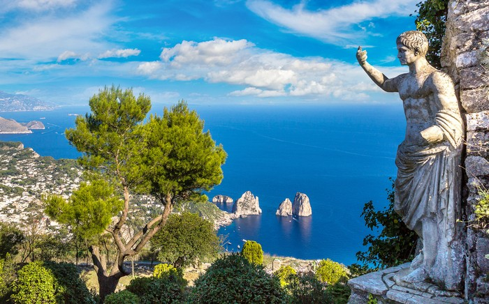 capri italia insula