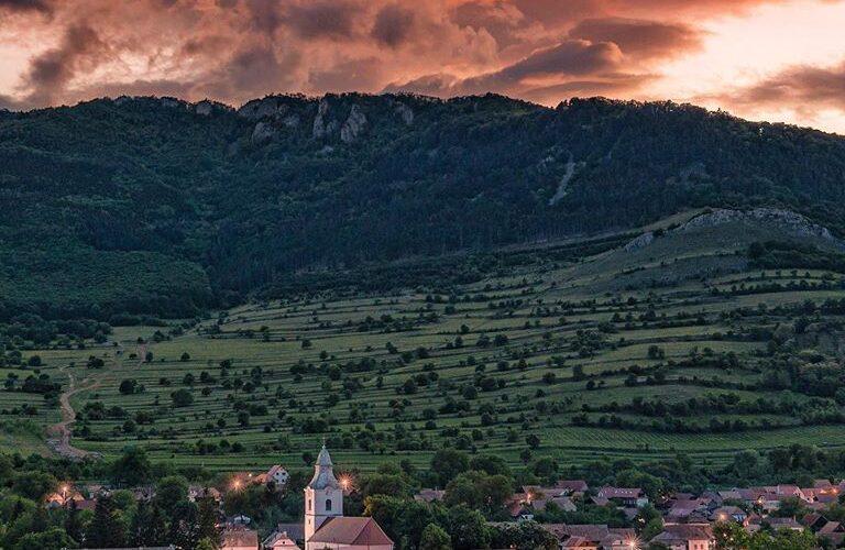 vedere rametea alba transilvania