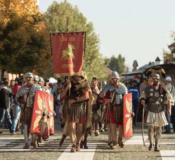 Garda Apulum În Cetatea Alba Carolina