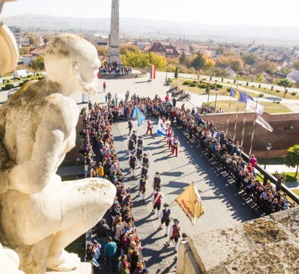 Schimbul de Garda in Alba Iulia